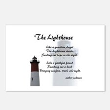 Unique Lighthouse Postcards (Package of 8)