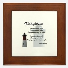 The Lighthouse Framed Tile