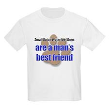 Small Dutch Waterfowl Dogs man's best friend T-Shirt