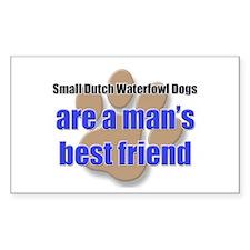 Small Dutch Waterfowl Dogs man's best friend Stick