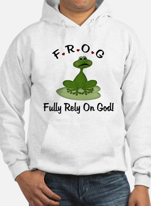 FROG Fully Rely on God Hoodie