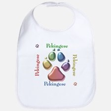 Pekingese Name2 Bib
