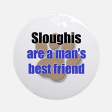 Sloughis man's best friend Ornament (Round)
