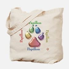 Papillon Name2 Tote Bag