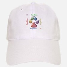 Papillon Name2 Baseball Baseball Cap