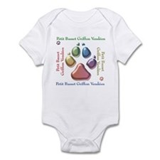 PBGV Name2 Infant Bodysuit