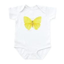 yellow butterfly Infant Bodysuit
