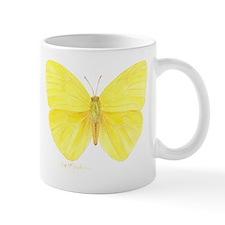 yellow butterfly Small Mug