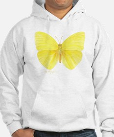 yellow butterfly Hoodie