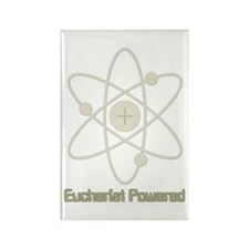 Eucharist Powered Rectangle Magnet