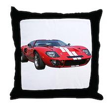 Unique Historic car Throw Pillow