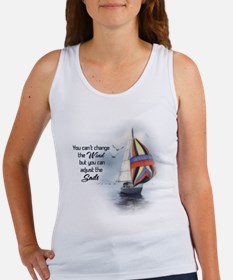 You Can't Change the Wind Women's Tank Top