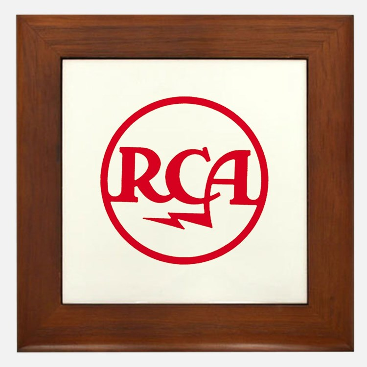 RCA meatball Framed Tile