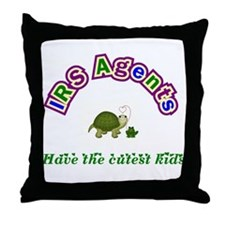 IRS Agent Throw Pillow