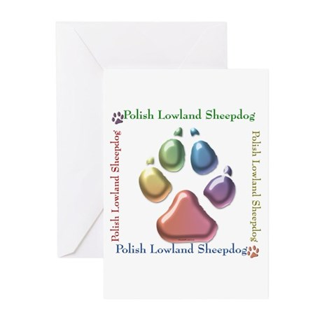 Lowland Name2 Greeting Cards (Pk of 20)