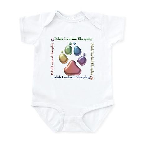 Lowland Name2 Infant Bodysuit