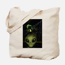 UFO Mothership Tote Bag