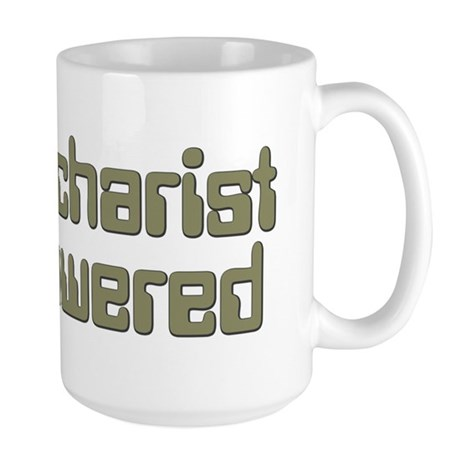 Eucharist Powered Large Mug