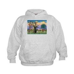 St Francis / Whippet Hoodie