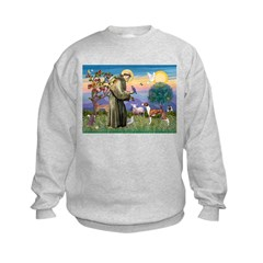 St Francis / Whippet Sweatshirt