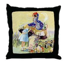 ADVICE FROM A CATERPILLAR Throw Pillow