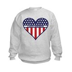 I Love America Kids Sweatshirt