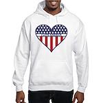 I Love America Hooded Sweatshirt