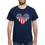 I Love America Dark T-Shirt