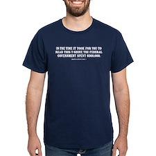 Spending Shock Shirt T-Shirt
