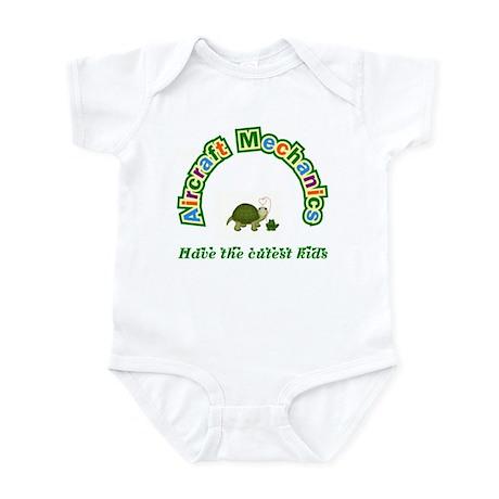 Airplane Mechanic Infant Bodysuit