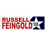 Russell Feingold '08 (bumper sticker)
