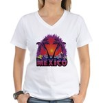 Mexico Women's V-Neck T-Shirt