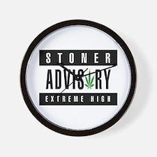 Stoner Advisory Wall Clock