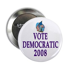 Vote Democrat 2008 Button (10 pack)