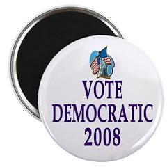 Vote Democrat 2008 Magnet (100 pack)