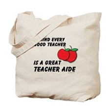 Great Teacher Aide Tote Bag