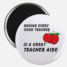 Great Teacher Aide Magnet