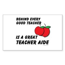 Great Teacher Aide Decal