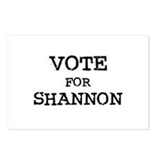 Vote for Shannon Postcards (Package of 8)