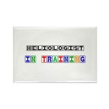 Heliologist In Training Rectangle Magnet