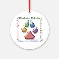Ridgeback Name2 Ornament (Round)