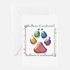 Redbone Name2 Greeting Card