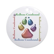 Redbone Name2 Ornament (Round)