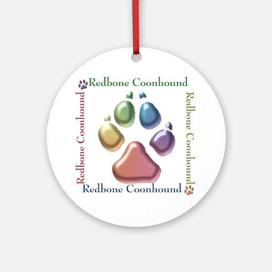 Redbone Name2 Ornament (Round)