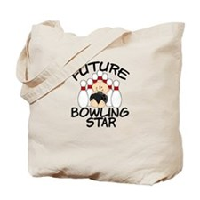 Future Bowling Star Tote Bag