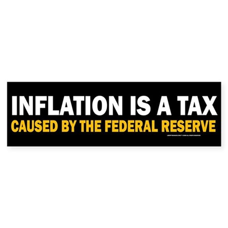 Inflation is a Tax Bumper Sticker