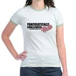 Pancreatically Challenged Jr. Ringer T-Shirt