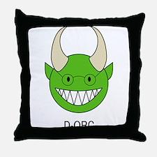 D-ORC Throw Pillow