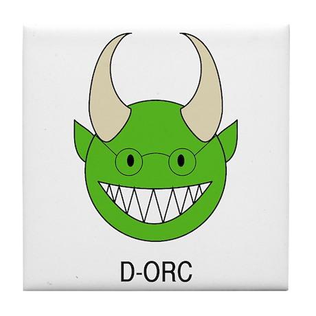 D-ORC Tile Coaster