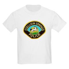Stallion Springs Police T-Shirt